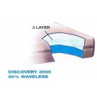 Discovery 3000 80% Waveless Waterbed Replacement Mattress