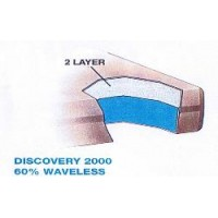 Discovery Plus 2000 60% Waveless Waterbed Replacement Mattress