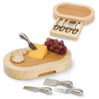Picnic Time Formaggio Oval Cutting Board