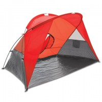 Picnic Time Cove Sun Shelter Red