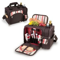 Picnic Time Malibu - Moka Collection Insulated Tote
