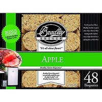 Bradley Apple Bisquettes (48 Pack)