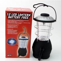 Battery Free Dynamo 12 LED Lantern