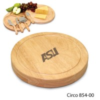 Arizona State Engraved Circo Cutting Board Natural