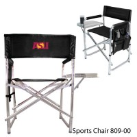 Arizona State Embroidered Sports Chair Black