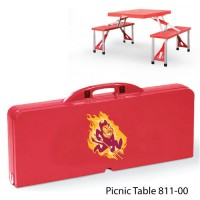 Arizona State Printed Picnic Table Red