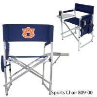 Auburn University Printed Sports Chair Navy