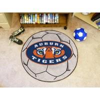 Auburn University Soccer Ball Rug