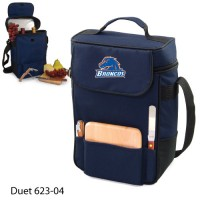 Boise State Embroidered Duet Tote Navy