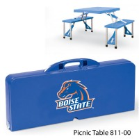 Boise State Printed Picnic Table Royal Blue