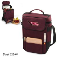 Boston College Embroidered Duet Tote Burgundy