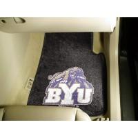 Brigham Young University 2 Piece Front Car Mats