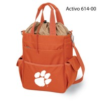 Clemson University Printed Activo Tote Orange