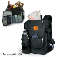 Clemson University Embroidered Turismo Tote Black