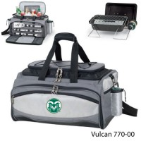 Colorado State Printed Vulcan BBQ grill Grey/Black