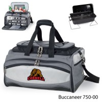Cornell University Printed Buccaneer Cooler Grey/Black