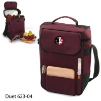 Florida State Embroidered Duet Tote Burgundy