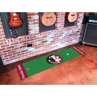 Florida State University Golf Putting Green Mat