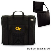 Georgia Tech Printed Stadium Seat Black