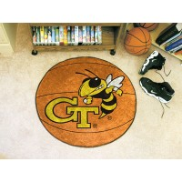 Georgia Tech Basketball Rug