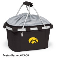 Iowa State Embroidered Metro Basket Picnic Basket Red