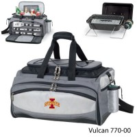 Iowa State Embroidered Vulcan BBQ grill Grey/Black