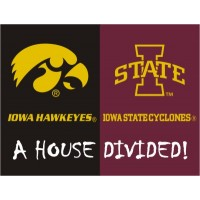 Iowa - Iowa State All-Star (House Divided) Rug