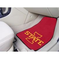 Iowa State University 2 Piece Front Car Mats