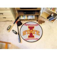 Iowa State University Baseball Rug