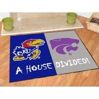 Kansas - K-State All-Star House Divided Rug