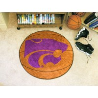 Kansas State University Basketball Rug