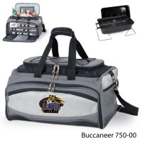 Louisiana State Printed Buccaneer Cooler Grey/Black