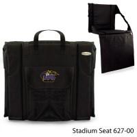 Louisiana State Printed Stadium Seat Black