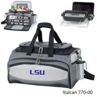 Louisiana State Embroidered Vulcan BBQ grill Grey/Black
