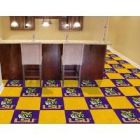 Louisiana State University Carpet Tiles
