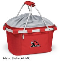 Miami University (Ohio) Embroidered Metro Basket Picnic Basket Red