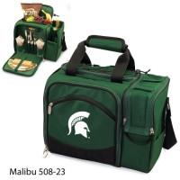 Michigan State Embroidered Malibu Picnic Pack Hunter Green