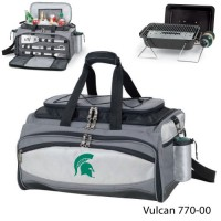 Michigan State Embroidered Vulcan BBQ grill Grey/Black