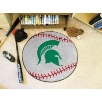 Michigan State University Baseball Rug