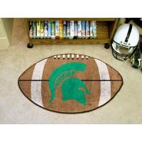 Michigan State University Football Rug