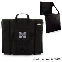 Mississippi State Printed Stadium Seat Black