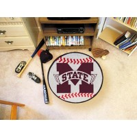 Mississippi State University Baseball Rug
