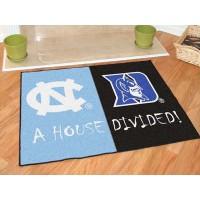 North Carolina - Duke All-Star House Divided Rug