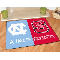 North Carolina - North Carolina State All-Star House Divided Rug