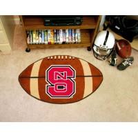 North Carolina State Football Rug