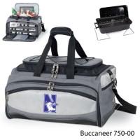 Northwestern Printed Buccaneer Cooler Grey/Black