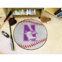 Northwestern University Baseball Rug