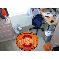 Ohio State University Basketball Rug