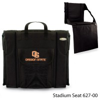 Oregon State Printed Stadium Seat Black