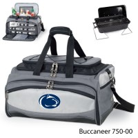 Pennsylvania State Embroidered Buccaneer Cooler Grey/Black